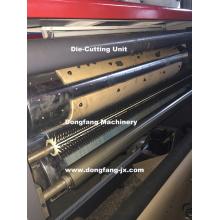 Máquina de corte rotativa de papel para la cubierta de cartón vegetal
