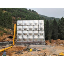 Water Tank Container Cistern Tank Delicate FRP Tanks for Water Treatment System