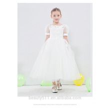 Modern Design Beautiful Girl Without Dress Fashionable Good Quality short sleeve Girl Dress ED648