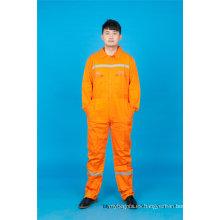 65% poliéster 35% algodón ropa de trabajo de seguridad con reflexivo (BLY1017)
