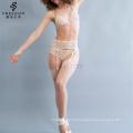 gros soutiens-gorge et culottes sexy fille nouveau soutien-gorge panti photo Garter Beige Leavers culotte sous-vêtements en dentelle