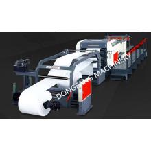 Cortar el rollo de papel a la máquina de longitud con servo motor