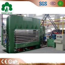 Máquina caliente de la prensa para hacer la madera contrachapada / la película Facd contrachapado