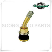 TR500-23° Brass Tubeless Truck and Bus Tire Valves