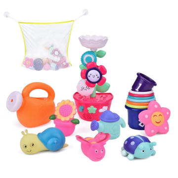 Watering flowers Bathroom Toys Kids Bath with Different Suits