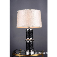 Copper,Aluminum and wooden Table lights in chrome color