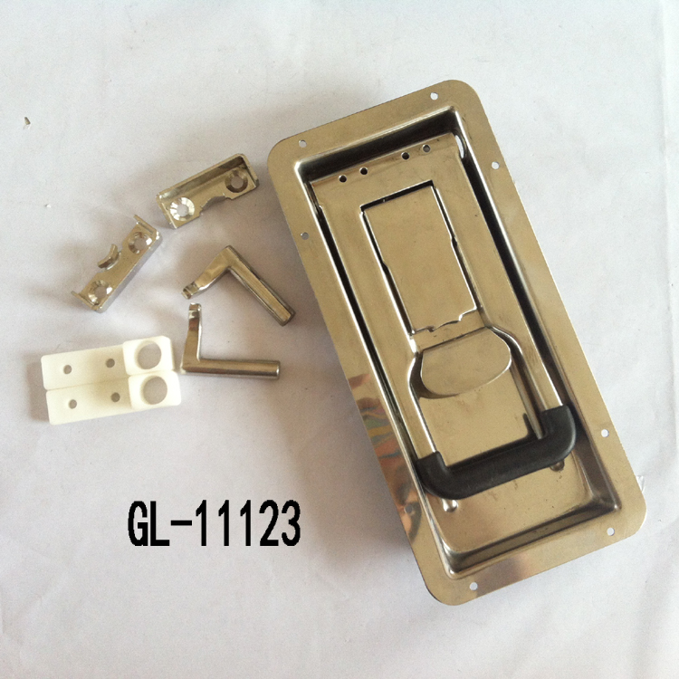 Trailer Side Door Bar Lock