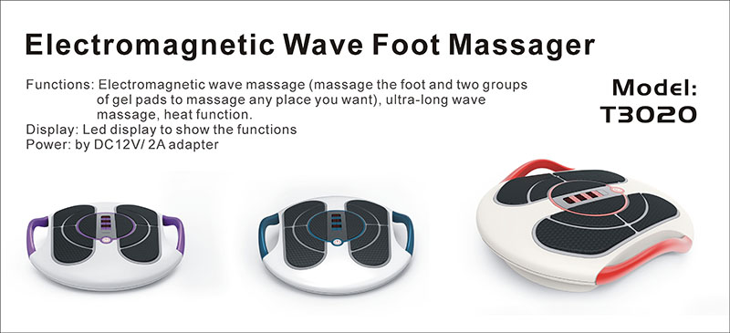 Electromagnetic Pulse Foot Massager