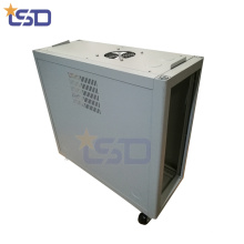 4 * 3 '' Rack de servidores de 1,0 mm de espesor con ruedas 4 * 3 '' Rack de servidores de 1,0 mm de espesor con ruedas