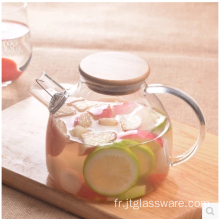 Bouilloire en verre High Boronsilicon Cold Fruit Pitcher