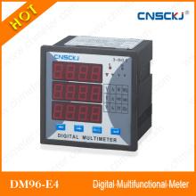 Dm96-E4 Certificación CE con medidor digital multifunción