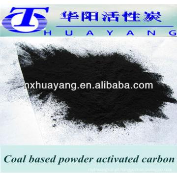 carvão ativado em pó para purificação de águas residuais