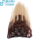 2016 new style salon hair wholesale price remy hair Clips In Hair Extensions