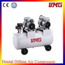 2 * 850 W Leistung Hochleistungs-Dental-Luft-Kompressor