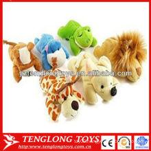 Various types stuffed mini plush animal fridge magnet