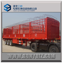 50t 3axles Stake Semi Trailer