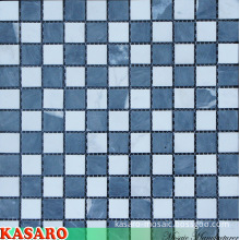 25X25mm Wall and Floor Natural Marble Stone Mosaic Tile (KSL-131095)