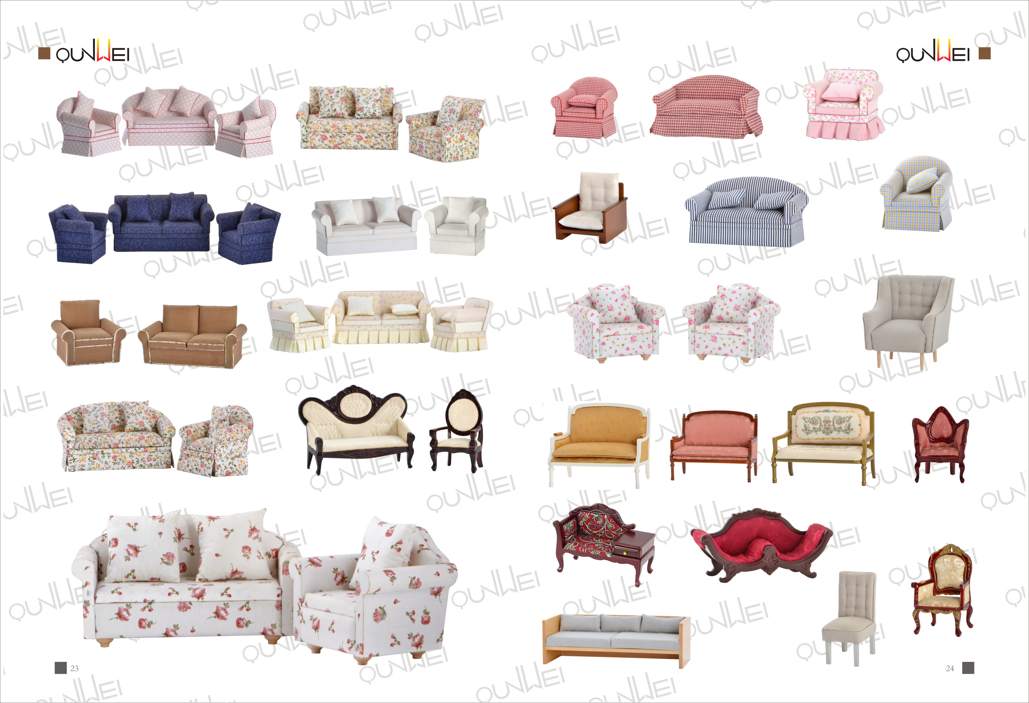 dollhouse modern furniture