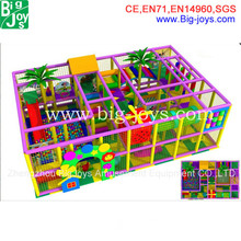 2014 Latest Beautiful Kids Commercial Indoor Playground for Children in Hot Sale