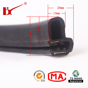 Ts 16949 Approved EPDM Rubber Door Sealing Strip