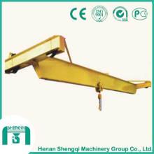 Pont roulant à poutre simple opérationnel manuel modèle SL
