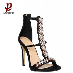 newest comfortable sandals with jewelry for ladies