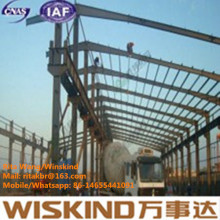 Wisnkind Steel Structure Building for Factory, Warehouse
