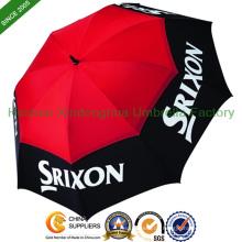 """68"""" Arc große entlüftet personalisierte Golf Regenschirme (GOL-0034FD)"""