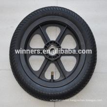 280x65 mm pneumatic rubber wheel/wooden cart wheel/balance cart wheel