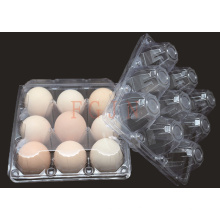 2/4/6/8/10/12/15/18/24/30 Holes Disposable Plastic Eggs Tray (PVC egg container)