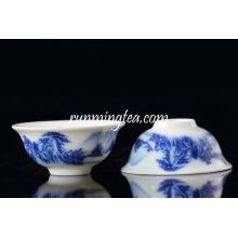 Пейзажная керамическая чашка для чая Pu Er Er