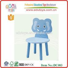 2015 Los nuevos animales coloridos diseñan el juguete de madera de la silla para los niños