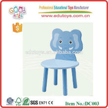 2015 New colorful animals design wooden chair toy for children