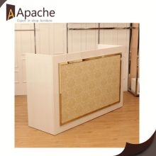Sample available factory directly shop display furniture with glass shelf for cell display shop