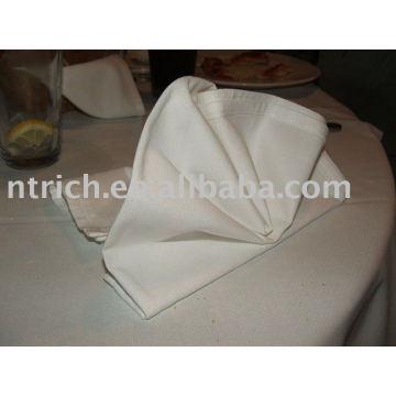 Serviettes de table, serviettes de table 100 % polyester, serviettes de l'hôtel/restaurant/mariage