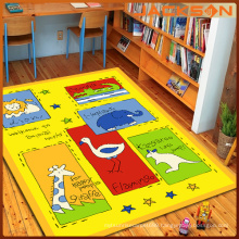 Machine Printed Washable Funny Game Play Mat