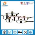 7 Unids Kitcehn Artículos Conjuntos de utensilios de cocina de acero inoxidable