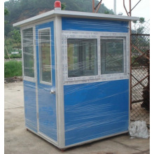 Sentry booth light steel prefab high quality security guard room for sale