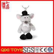 pelúcia mini preguiça pelúcia macia mouse keychain brinquedo