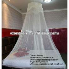 Les dome girls font le lit de la moustiquaire pour la DRCMN-2