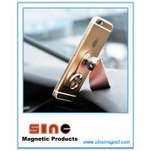 Soporte magnético para coche con hebilla de anillo