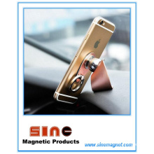 Suporte magnético para celular com fivela de anel