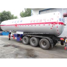 60 CBM GLP tanque de gás semi-reboque