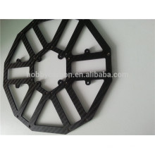 twill matte 100% completa placa de fibra de carbono Quadcopter / hexacopter / octacopter preço da folha de quadro de fibra de carbono