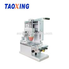 Precio de la máquina de impresión del cojín del solo color 1 manual de escritorio