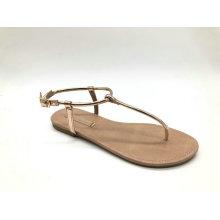 Damen Sandale mit T-BAR Obermaterial