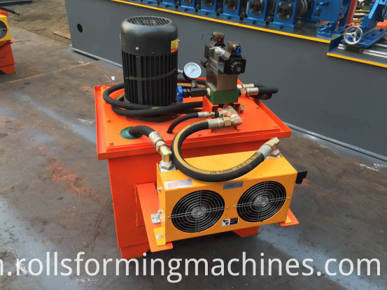 Air-cooled type hydraulic pump