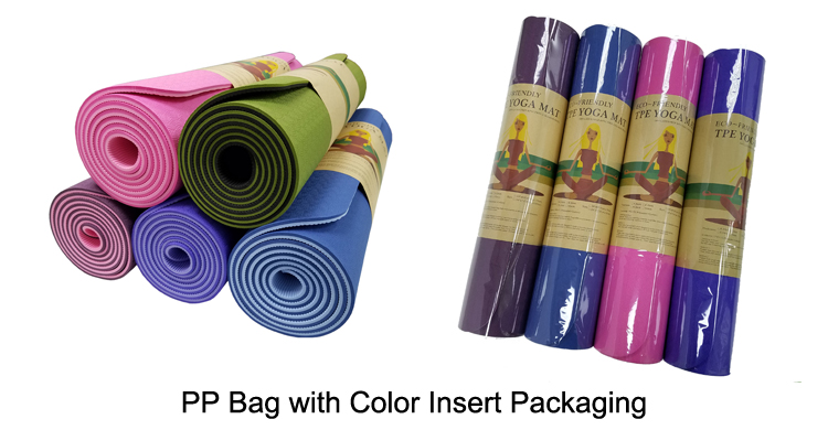 Soft yoga mat