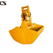 hydraulic clamshell bucket for excavator