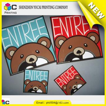 hot sale fashionable design adhesive label paper